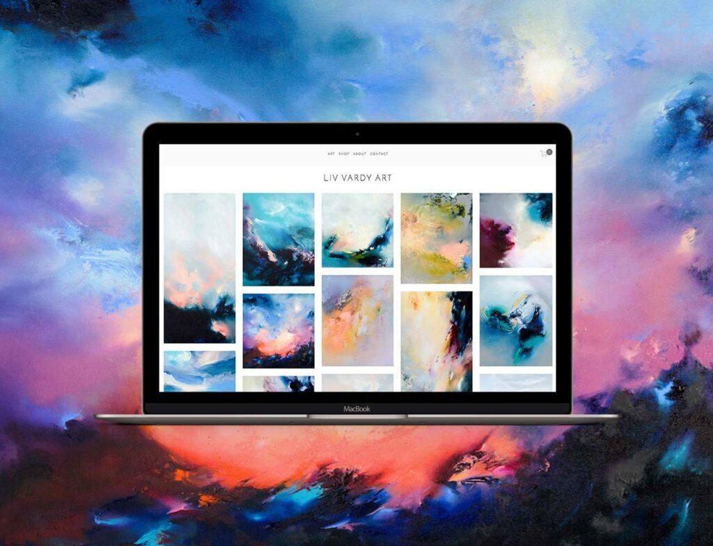 LivVardy | Website Showcase | Bold Branding & Custom Squarespace Designs | Sofia Parker Creative Studio | www.sofia-parker.com