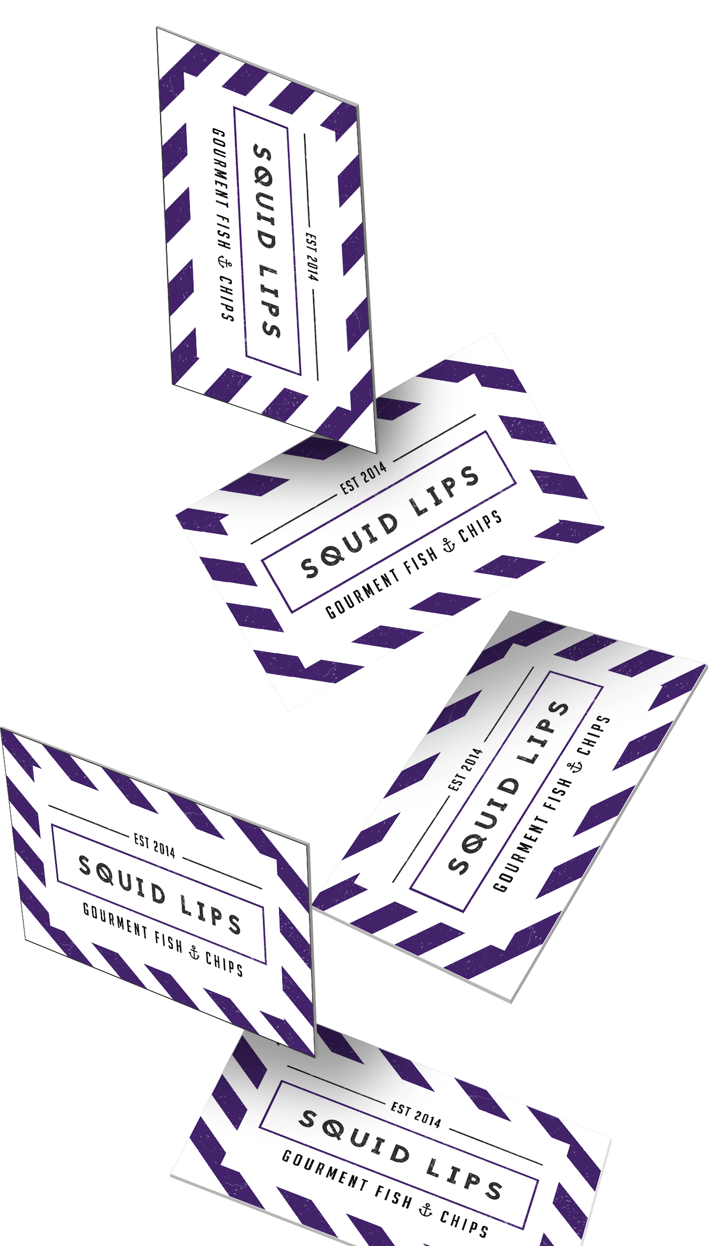 Falling Business cards | Bold Branding & Custom Squarespace Designs | Sofia Parker Creative Studio | www.sofia-parker.com