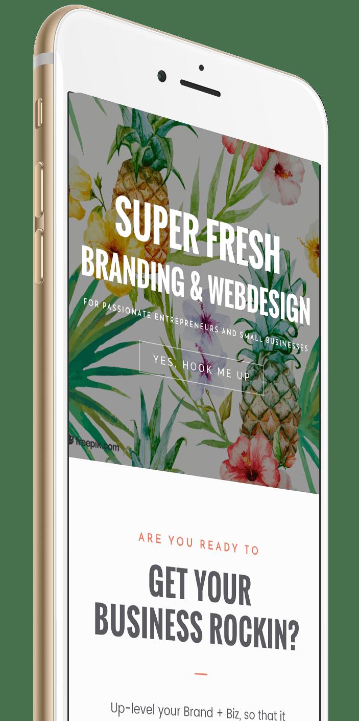 Iphone 7 | Bold Branding & Custom Squarespace Designs | Sofia Parker Creative Studio | www.sofia-parker.com