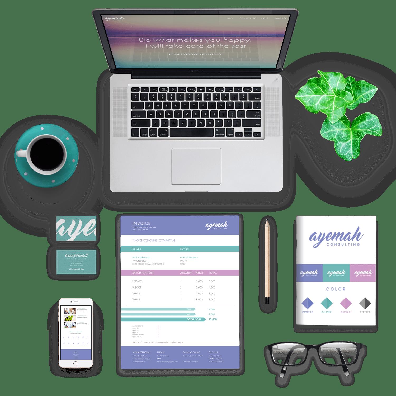 Ayemah | Style Guidelines + Bradning + Website | Bold Branding & Custom Squarespace Designs | Sofia Parker Creative Studio | www.sofia-parker.com