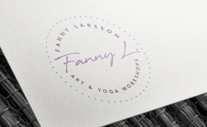 Fanny Larsson | Logotype Branding | Bold Branding & Custom Squarespace Designs | Sofia Parker Creative Studio | www.sofia-parker.com
