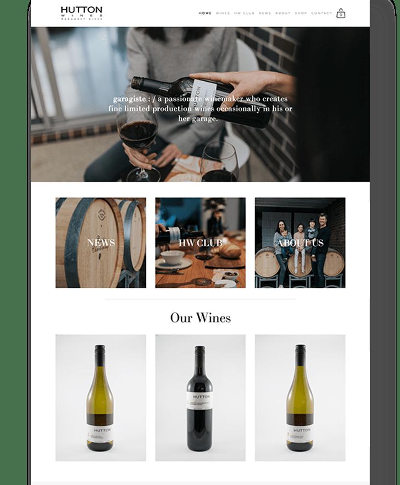 Hutton | Website Showcase | Bold Branding & Custom Squarespace Designs | Sofia Parker Creative Studio | www.sofia-parker.com