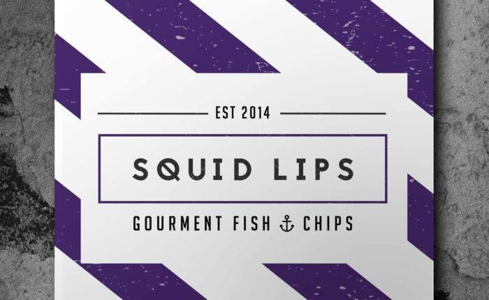 Squid Lips Business Branding Poster | Bold Branding & Custom Squarespace Designs | Sofia Parker Creative Studio | www.sofia-parker.com